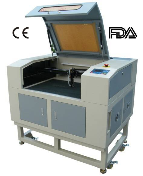 Factory Supply Plastic Laser Cutting Machine with No Burnt Edges