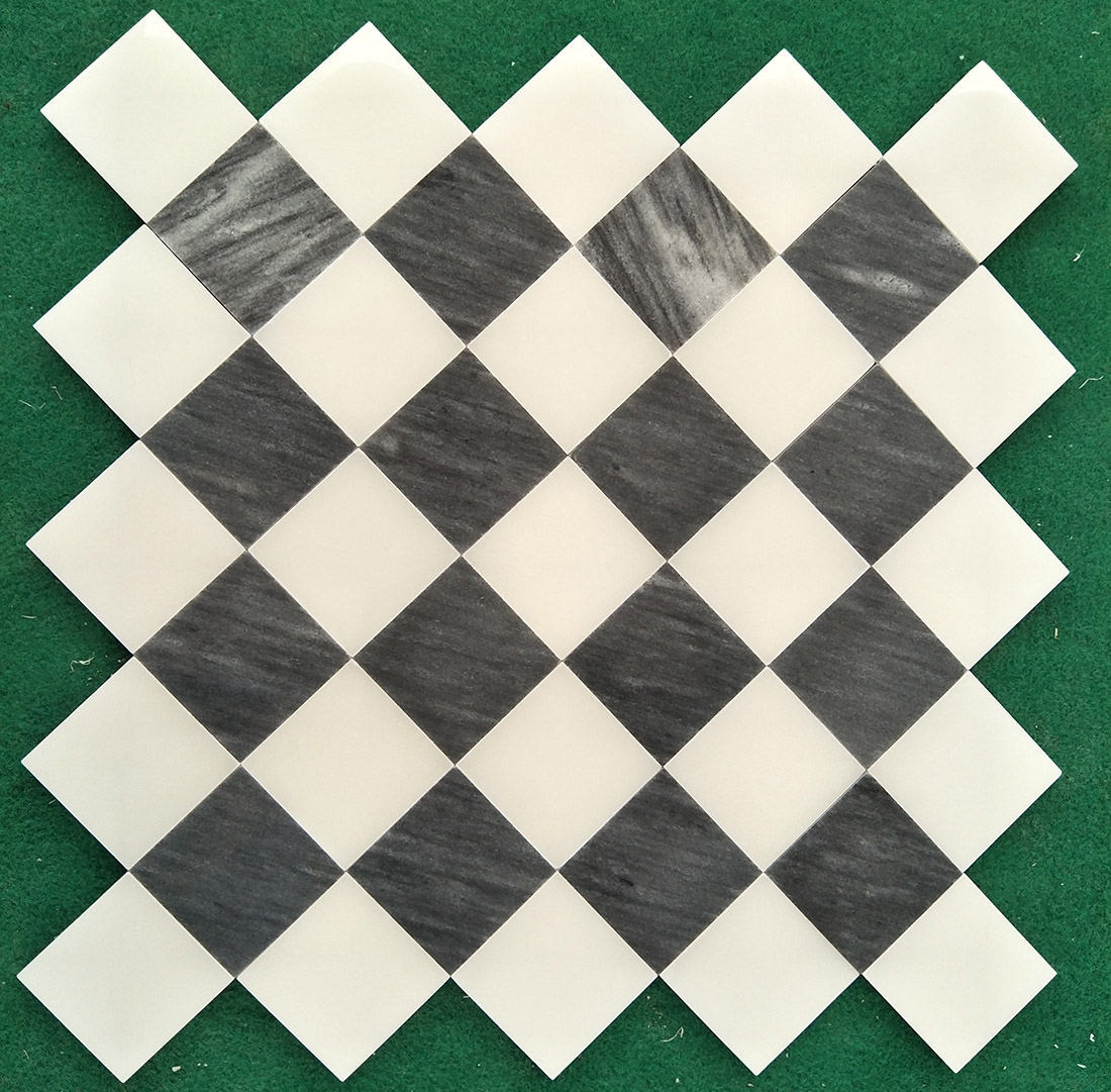 Natural marble mosaics tiles