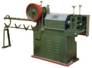WIRE STRAIGHTENING AND CUTTING OFF MACHINE