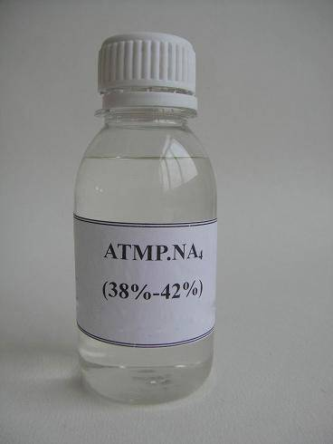 Tetra sodium salt of Amino Trimethylene Phosphonic Acid (ATMP•Na4)