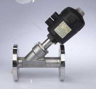 ic angle seat valve DN32/ pneumatic angle seat valve DN40/ pneumatic angle seat valve sanitary / th