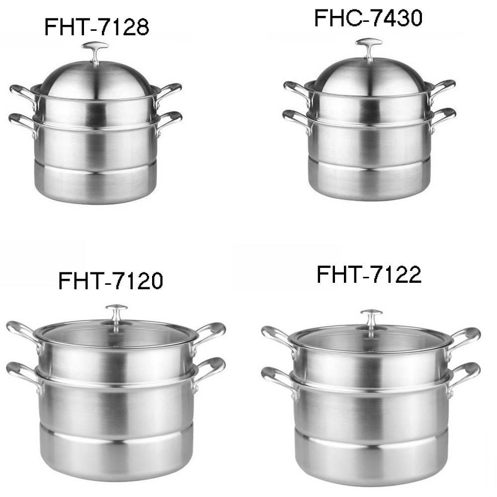 304Stainless steel pot-steamer