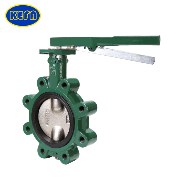 Lug Type Pinless Backed Seat Butterfly Valve