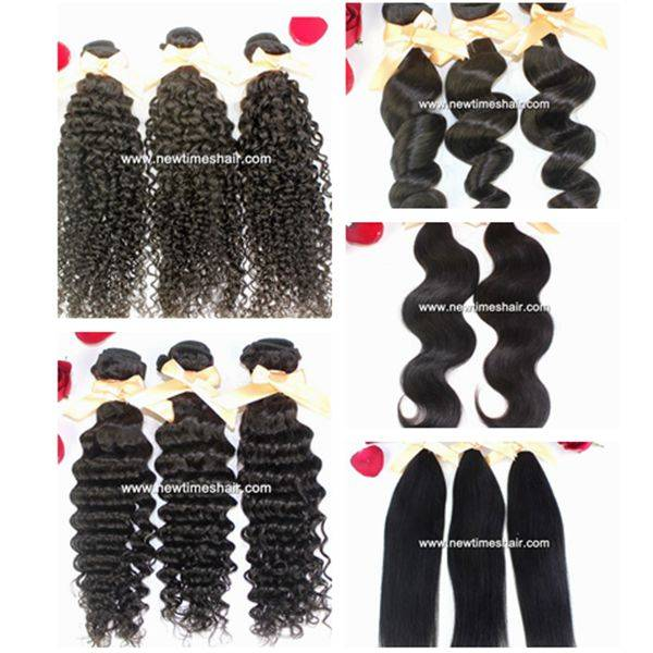 Human hair extentions/weft for women