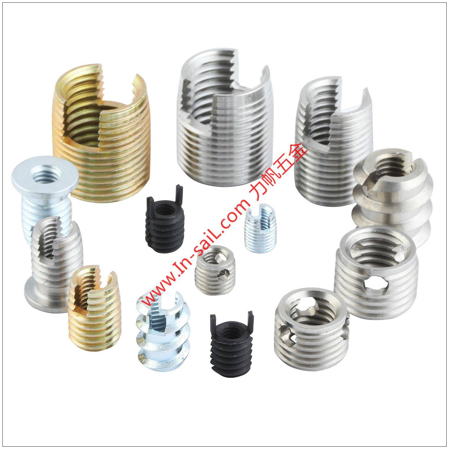 Thread Inserts for Metal
