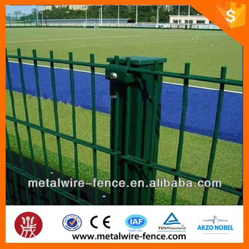 shengxin direct high strength green powder/pvc coated 868 double wire mesh fence for home garden