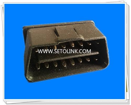 12V SAE-J1962 OBDII 16 PIN MALE CONNECTOR