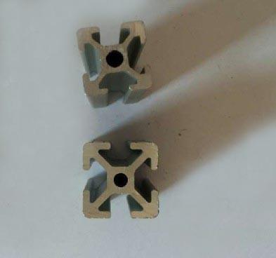 Black Bronze Silver 6063 6005 Aluminium Extrusion Profile
