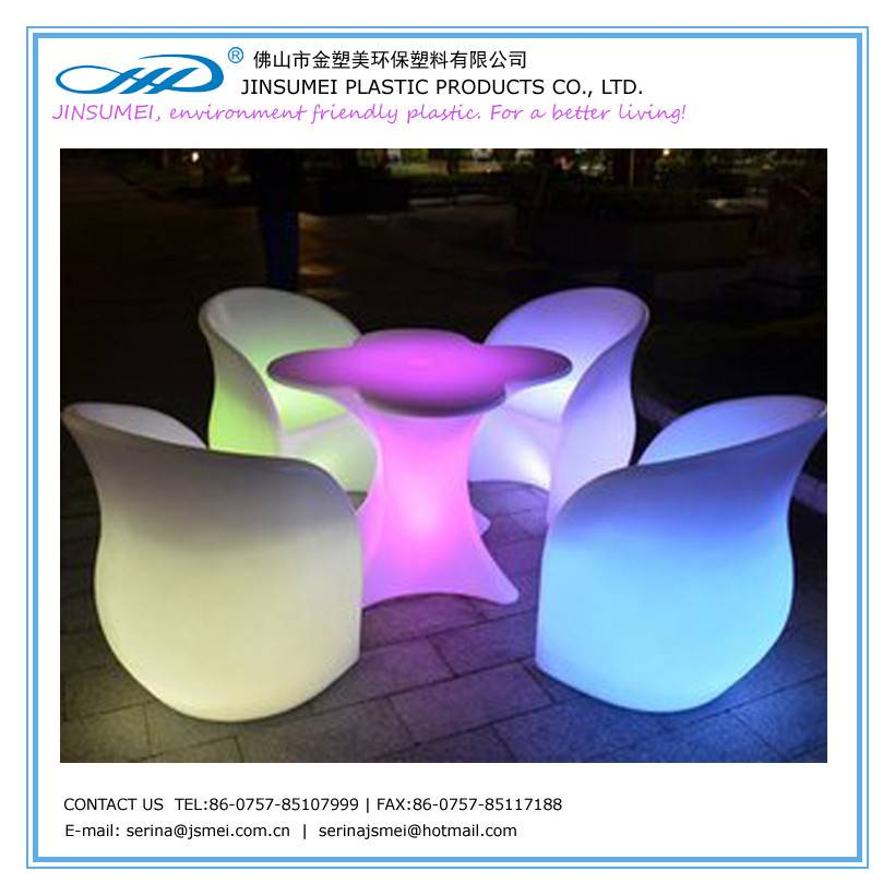 plastic plum blossom chair