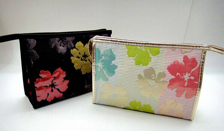 Cotton cosmetic bag