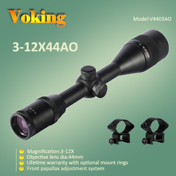 Voking 3-12X44 AO magnifier scope with your own APP