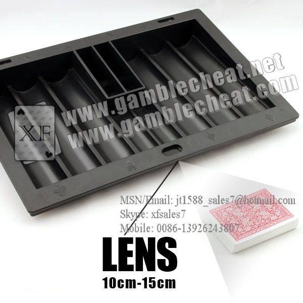 XF Chiptray Hidden Lens/poker analyzer/poker cheat/contact lens/infrared lens/poker scanner/marked c