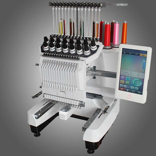 Brothersingle head embroidery machine