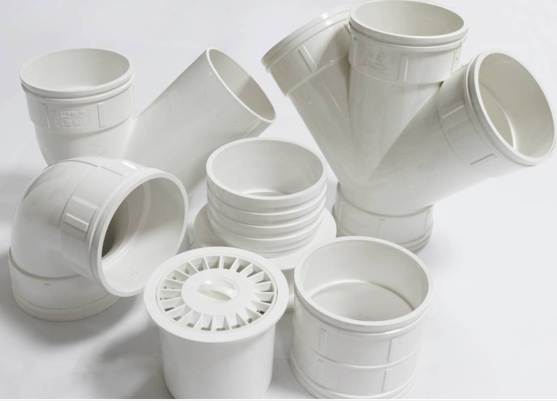 Plastic injection PVC pipe fitting