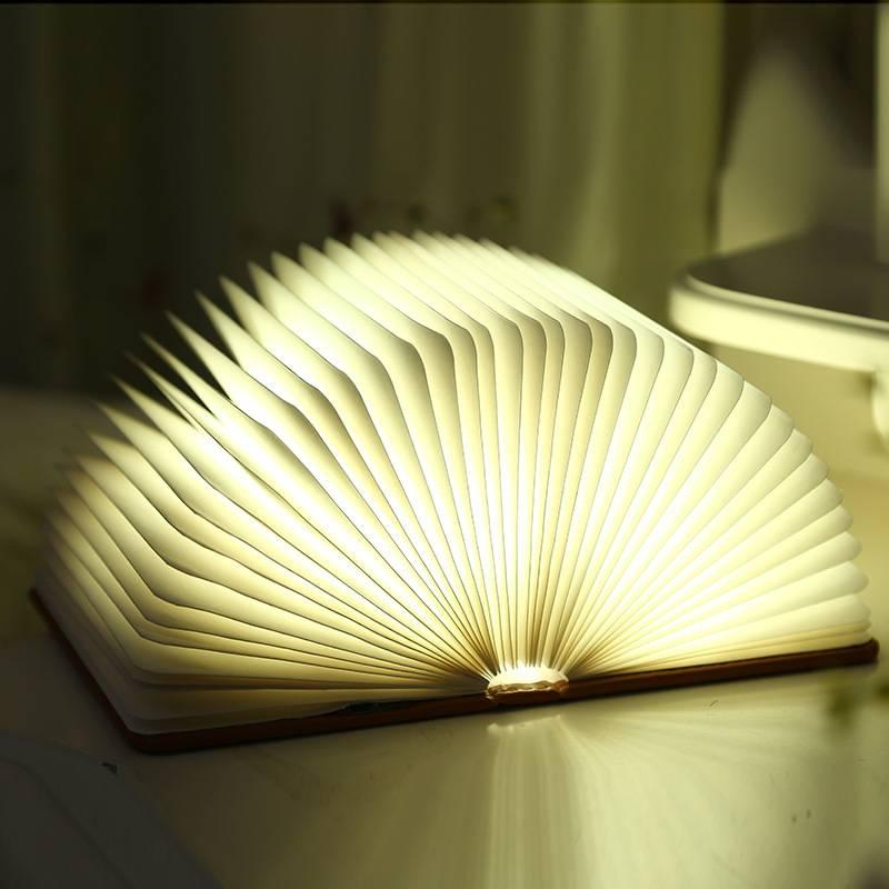 Creative Book Shape USB 3d night light,book reading lamp