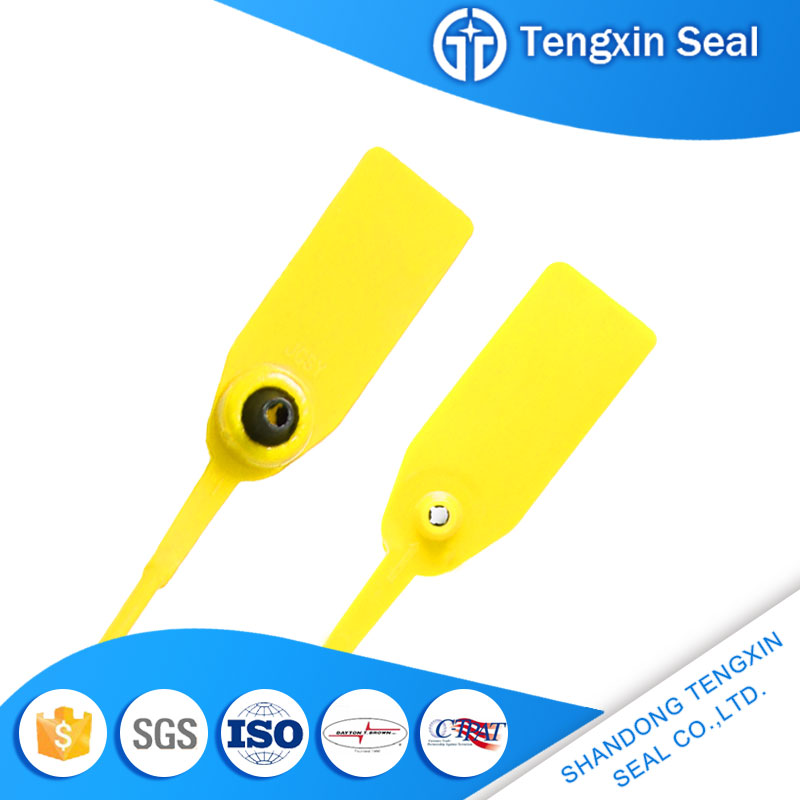China roll bag seal plastic safety extinguisher seal