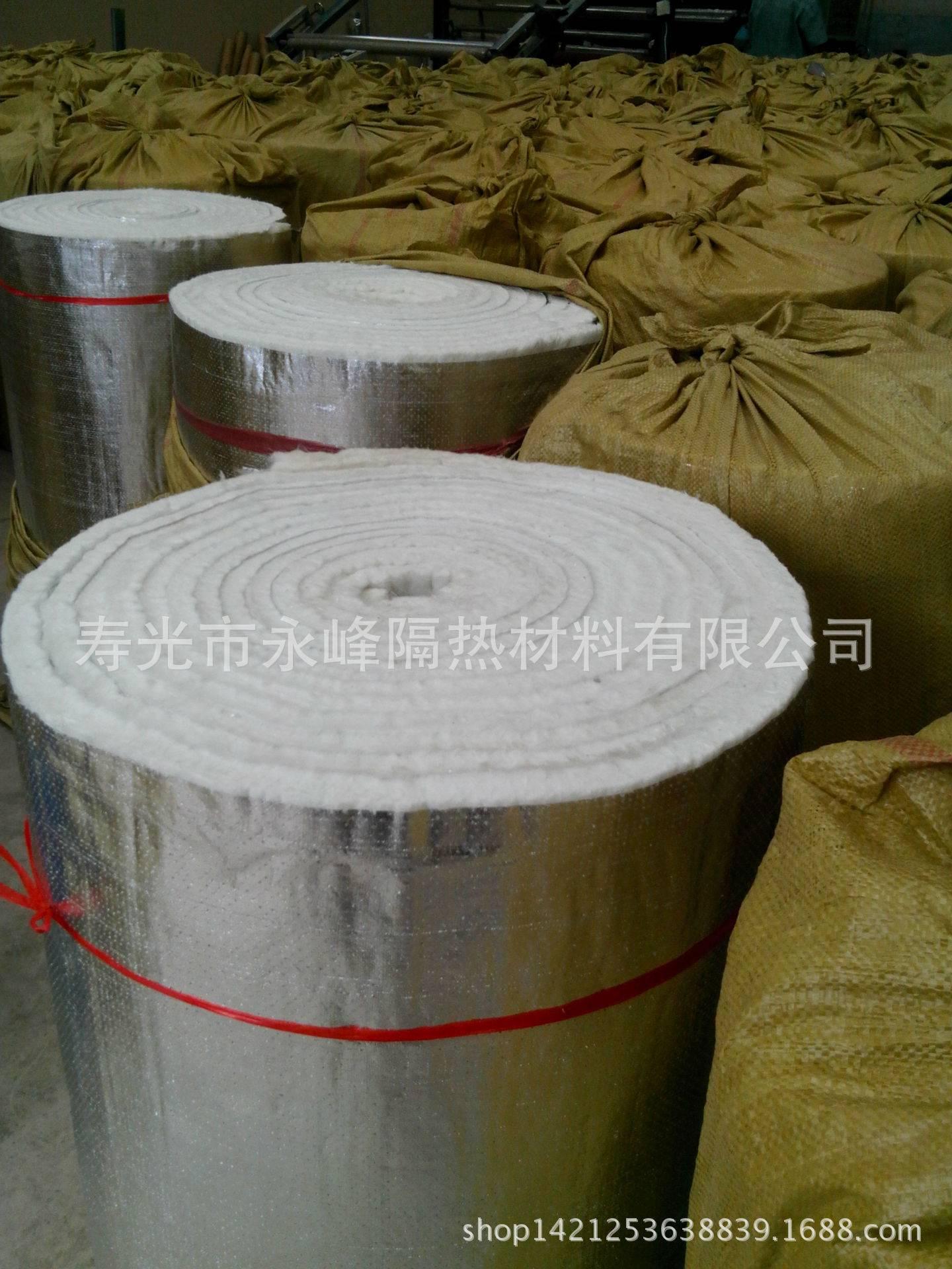 alumina coated fiberglass needle mat