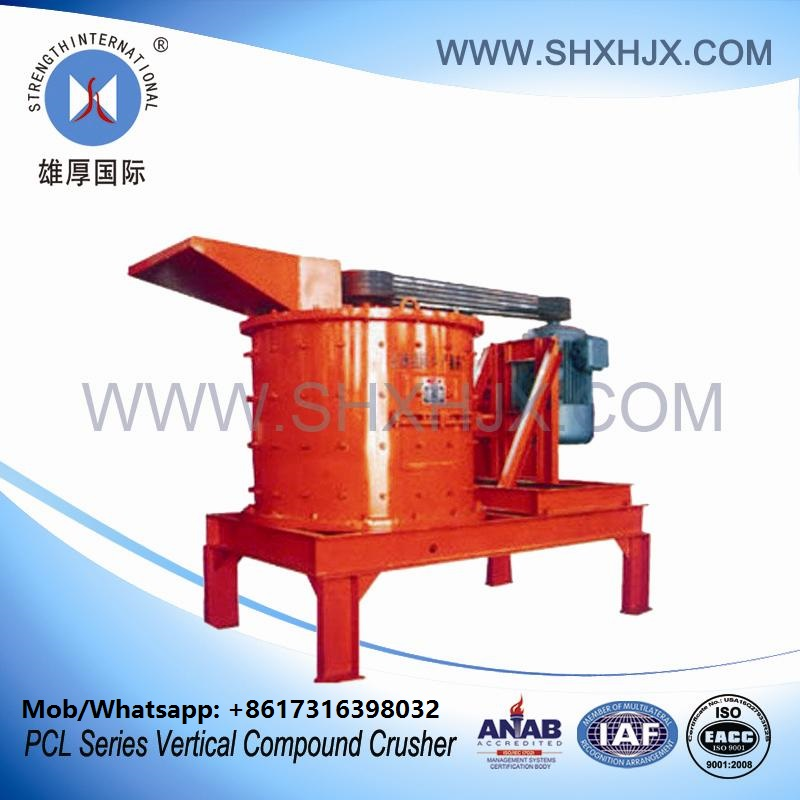 Sand Making Machine Vertical Compound Crusher For Fine Crushing