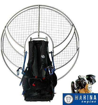 Parajet Volution 3 With Polini Thor 200 EVO ES Paramotor