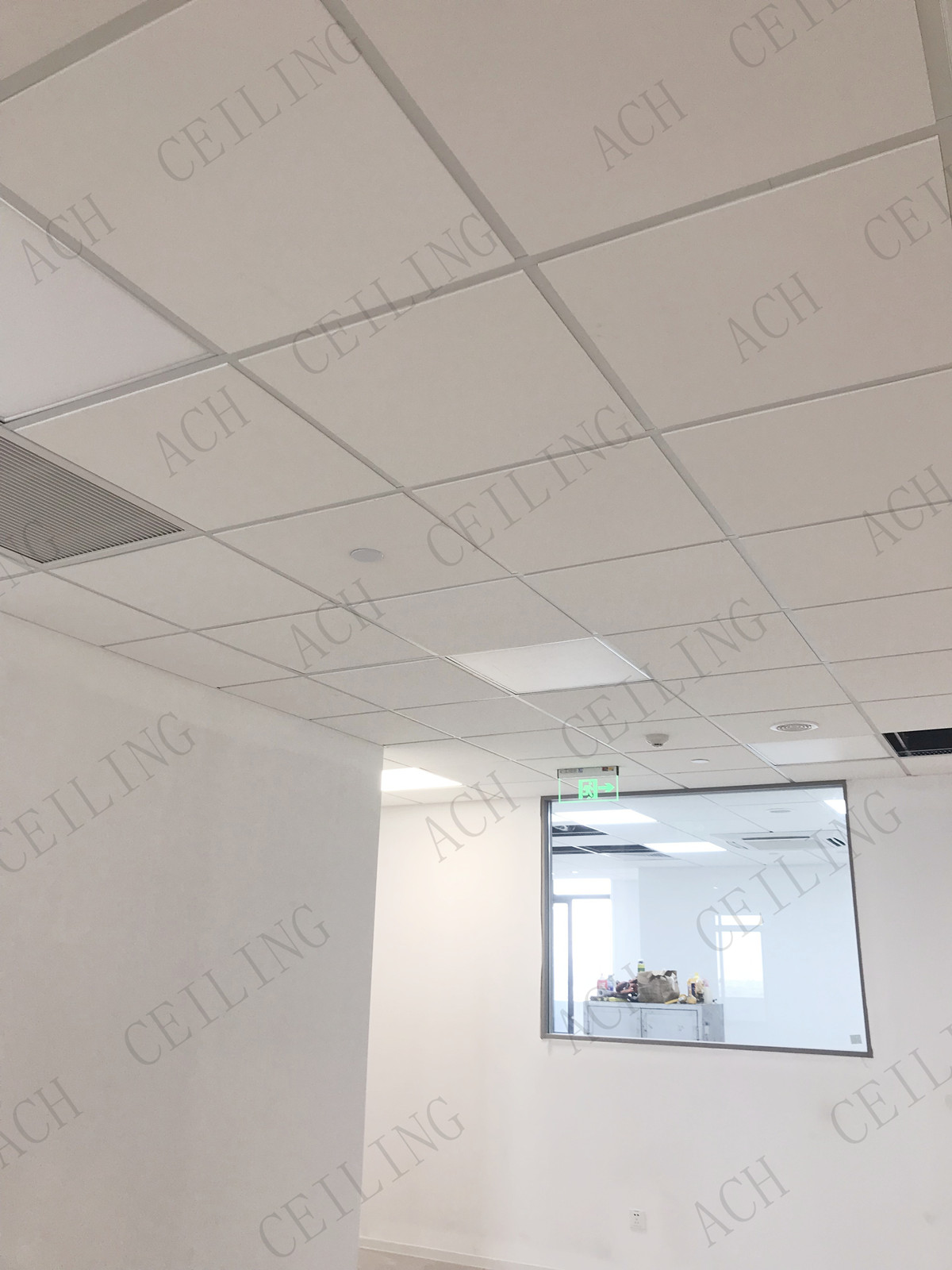 Rock Wool Acoustical Hygienic Ceiling Tiles