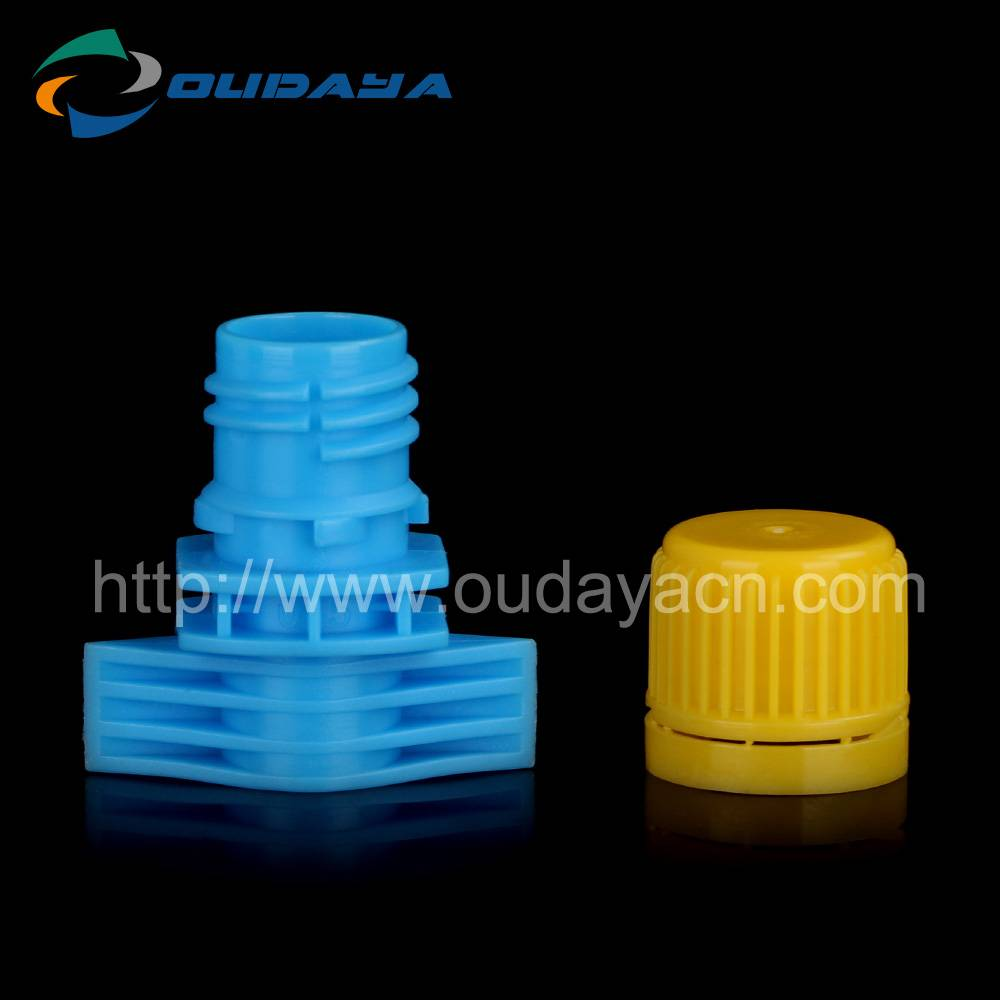 13mm single gap suction nozzle spout cap for bottle