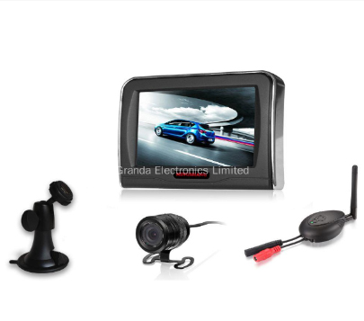 Wireless Car Backup Rear View Camera with 4.3 inch TFT LCD Monitor