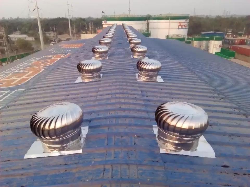 Airvent Rooftop Natural Ventilator