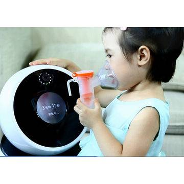 An Intelligent Talking Robot with Home Use Nebulizer for Children