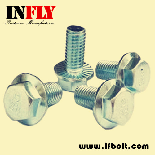 Hex Flange Bolt DIN6921 Hexagon Head Flange Screw -Infly Fasteners Manufacturers
