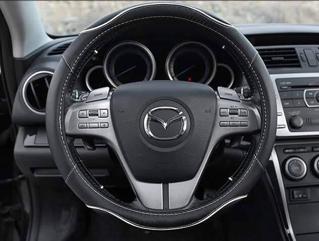 PVC cheap car steering wheel cover