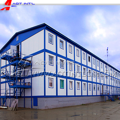 Modular Flat Pack Container House Labor Camp