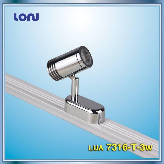 LUA7316-T-3W Showcase Track Lights, LED Showcase Lights, LED Cabinet Lights