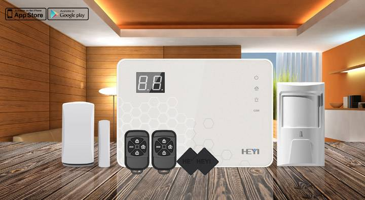 Touch screen 433MHz alarm system! Smart  gsm alarm system