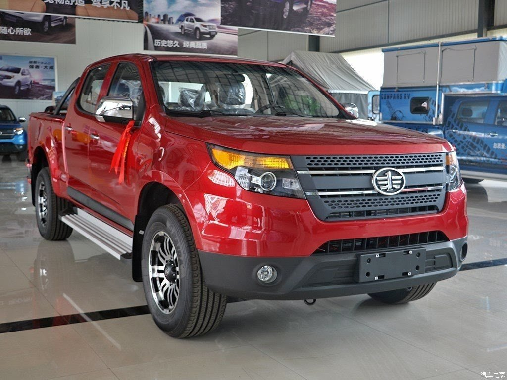 FAW Hongta T340 Pickup Has Watched Way Too Many Ford Explorer Commercials