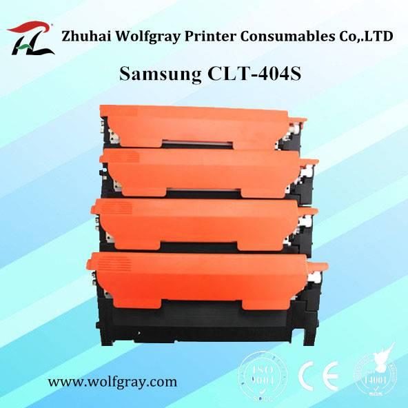 Hot sale compatible for Samsung CLT-404S color toner cartridge