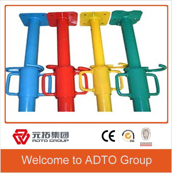 powder-coated painted HDG telescopic scaffolding props for formwork system
