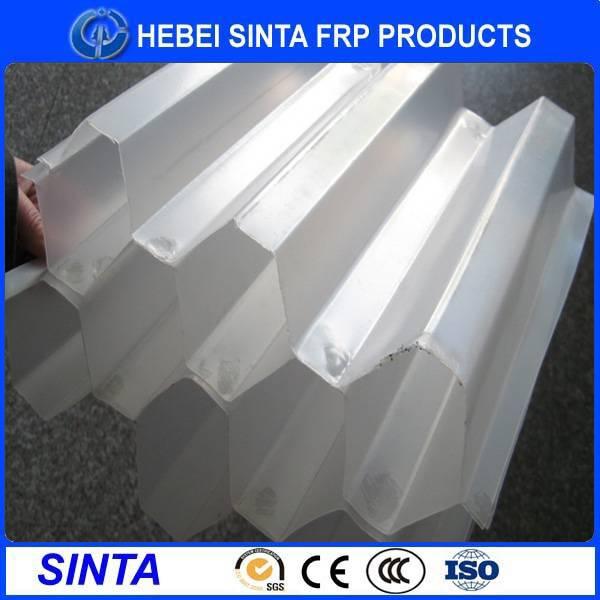 PP PVC Hexagonal honeycomb packing in water treatment tank