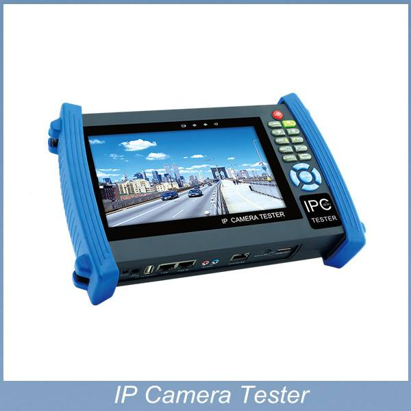 7inch CCTV IP CVI camera tester TFT-LCD touch screen for IP camera , analog camera