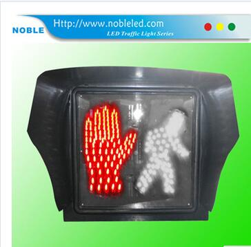 400mm square crosswalk safety led traffic signal head