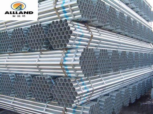 BS1387 Galvanized Steel Tube/Pipe