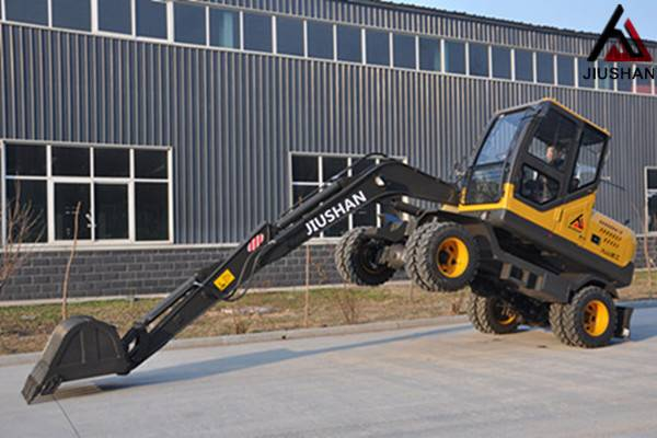 Mini Wheel hydraulic excavator