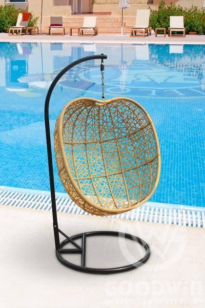 GW3368 hanging chair rattan furniture garden furnitureHammock