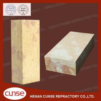 qualified manufacturer silica refractory brick for glass kiln