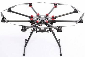 Drone DJI S1000 Premium A2 Riprese e Foto aeree Canon 5D Mark III GH3 Blackmagic