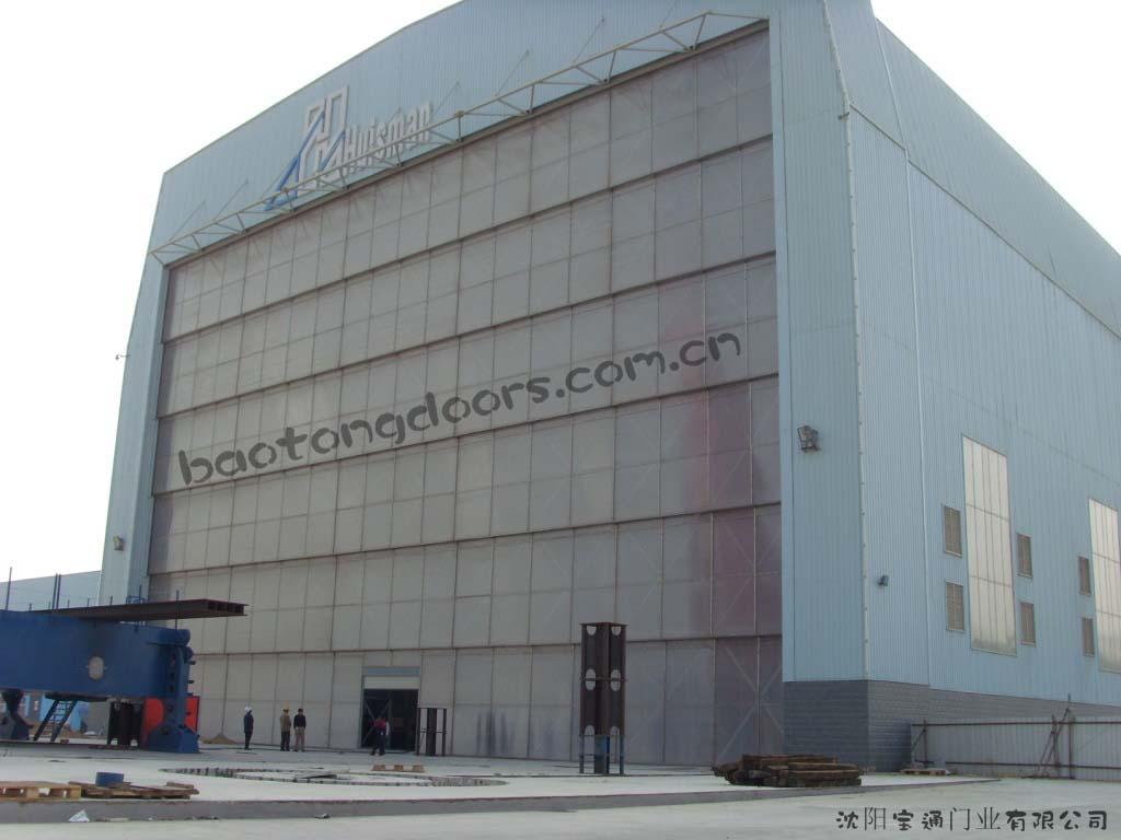 Multi-Sectional Vertical Lifting Doors