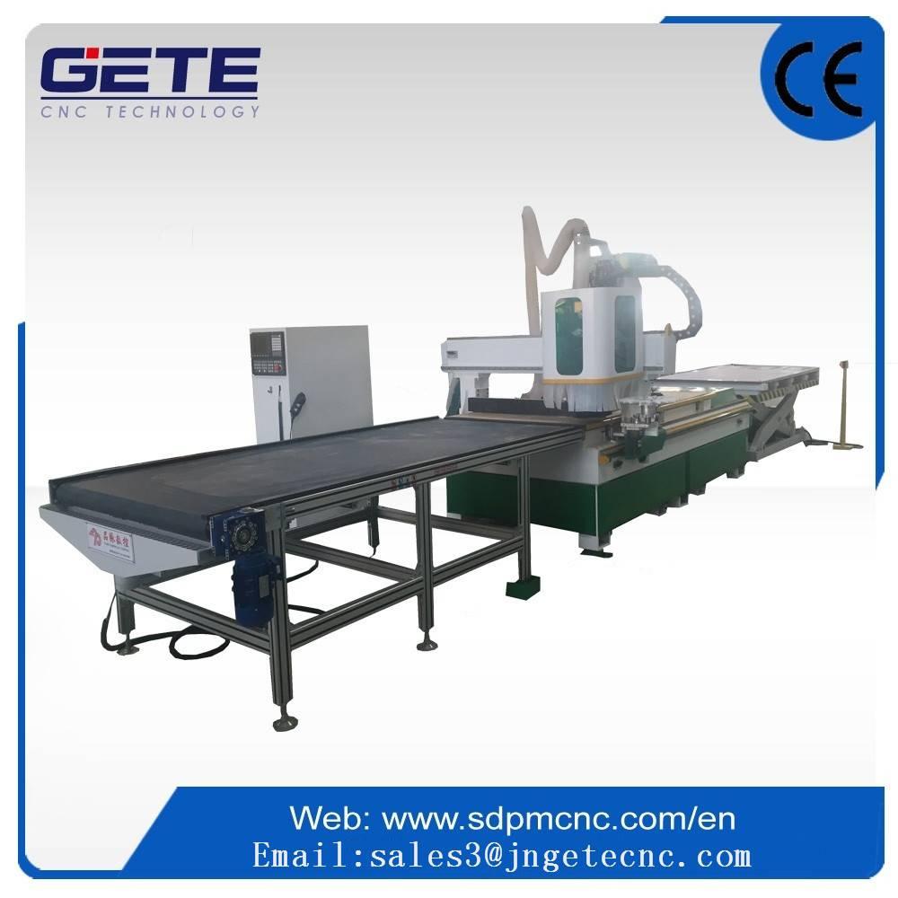 UA-48F Panel furniture wood woking line in china