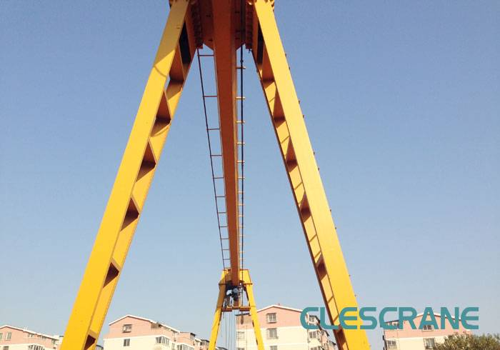 LHG Series CLES Electric Overhead Travelling Crane Hoist for Single Girder Gantry Crane
