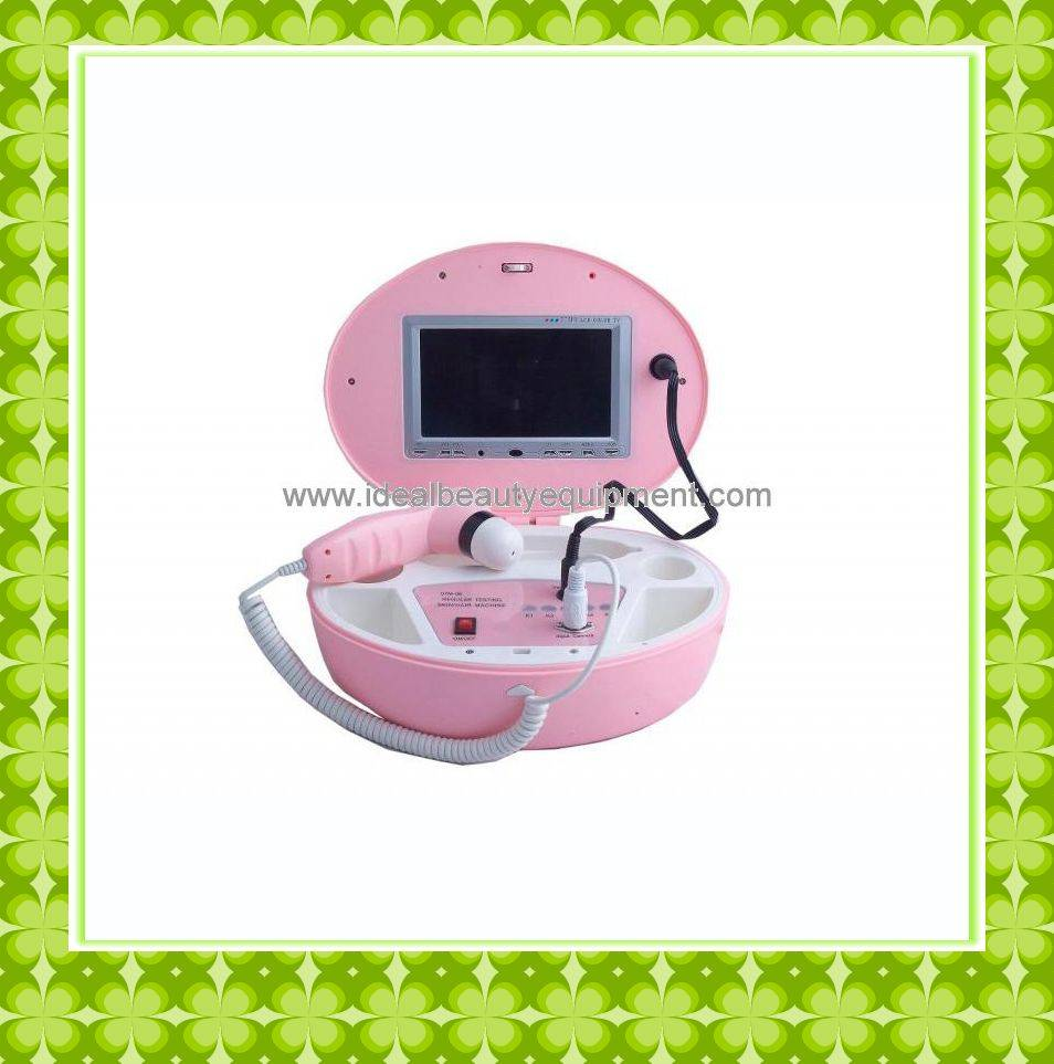 Portable LCD Skin and Hair analyzer (A009)