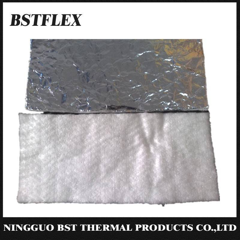 Aluminum Fiberglass Heat Shiled Mat