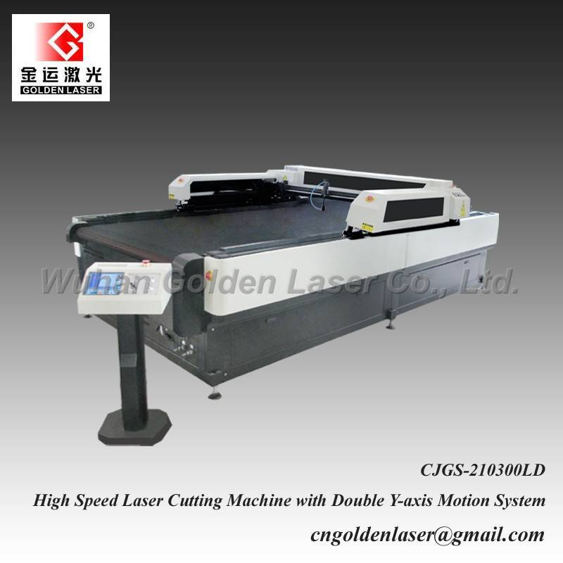 Coated Fabric Laser Cutting Machine